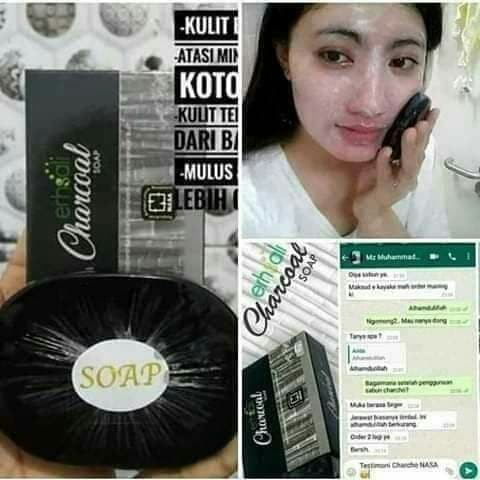 Image result for testimoni chaccoal soap nasa
