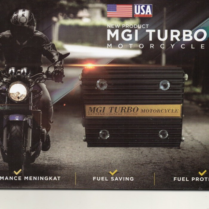 Foto Produk Turbo Extreme Voltage Tuning for Motorcycle dari Bioglass The Secret Life