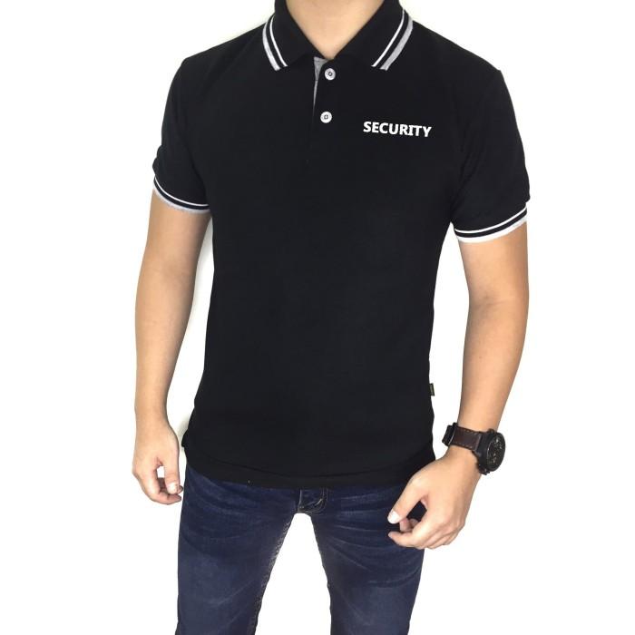 Sale promo polo shirt pria / kaos polo kerah wangki shirt security