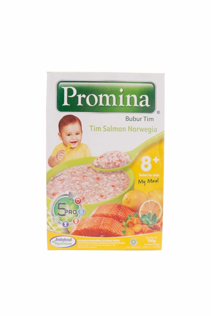 Jual Promina Bubur Bayi 8 Bln Mpasi Rasa Tim Salmon Norwegia