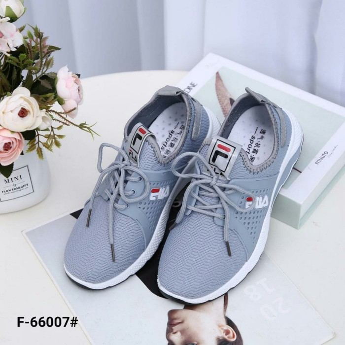 b1c06b4177 Jual Fashion FILA Canvas Sneakers F-66007W/V - Almira Carissa Shop ...