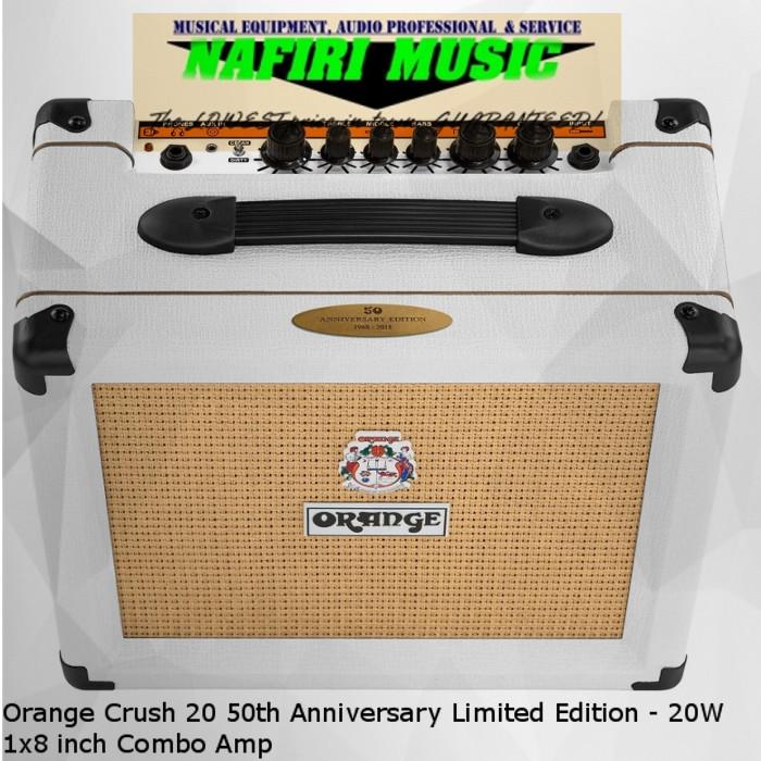 a4cdc2f5d0427 harga Orange crush 20 50th anniversary limited edition - 20w 1x8 inch combo  Tokopedia.com
