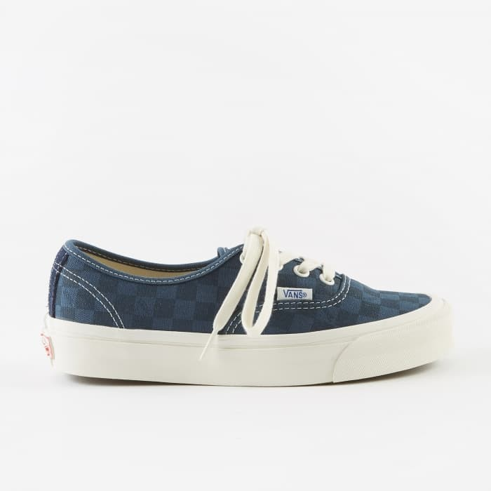 eba36b5e19 Jual Vans Vault OG Authentic LX Checkerboard Majolica Blue Original ...