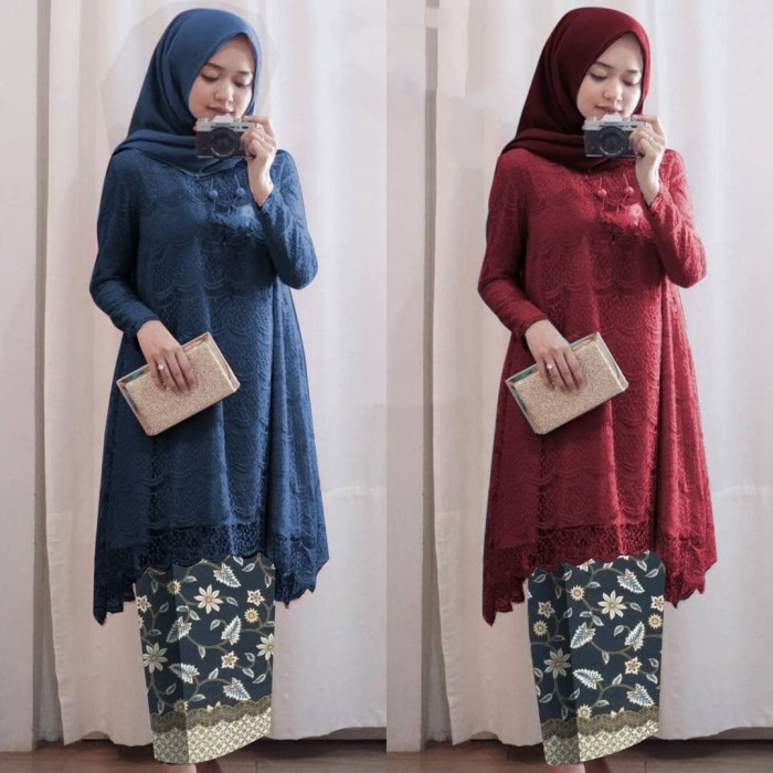 Jual Fm Baju Kebaya Model Kebaya Brokat Terbaru Jakarta Utara Fashion Market Express Tokopedia