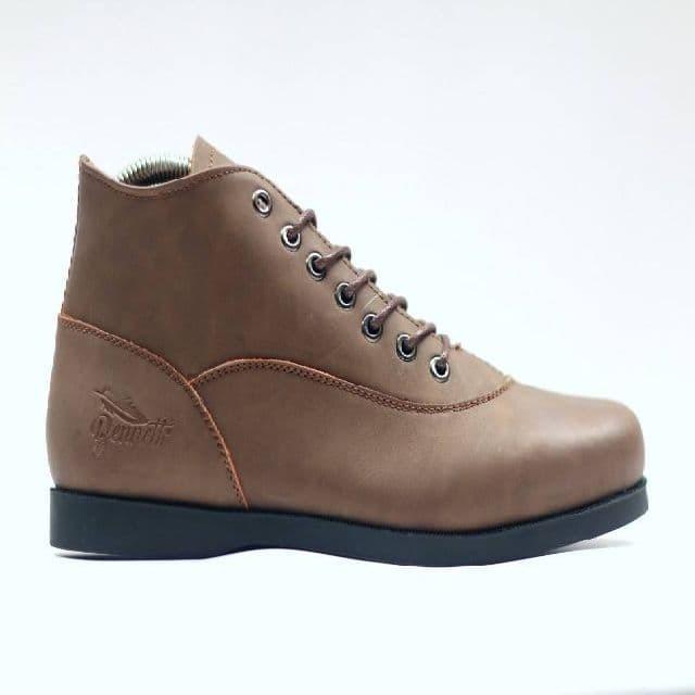 Jual sepatu boot pria bennett foster brown kulit - Cokelat 44edb455ed