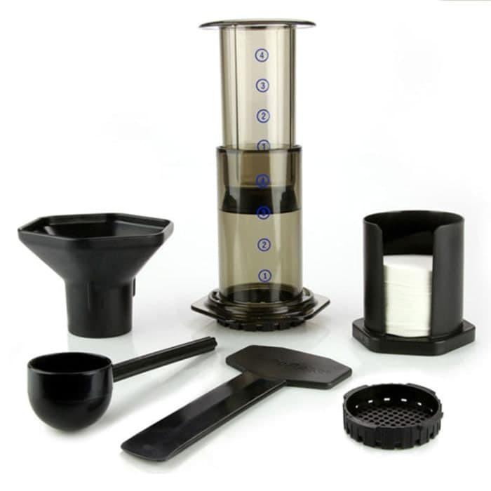 Foto Produk plugandpay.espresso maker pembuat kopi espresso aeropress aeropres OEM dari plugandpay