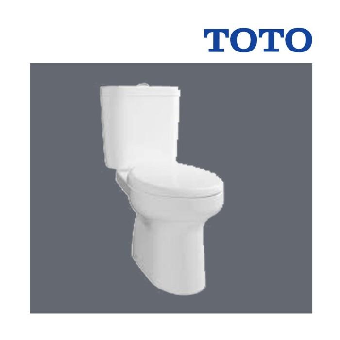 Foto Produk Kloset Duduk TOTO 420 Ecowasher + Komplit Alat + Gasket + Dll dari serisaito