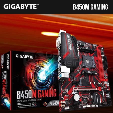 Gigabyte B450M GAMING (AM4, B450, DDR4)