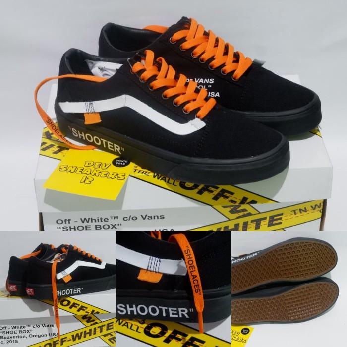 Jual Sepatu Vans Old Skool Shooter Black Import PREMIUM BNIB Made in ... 6e63a7387f