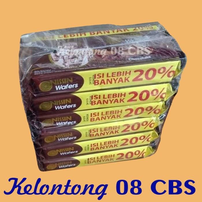 harga Snack wafer coklat nissin kemasan 145gr per pak isi 6 bungkus - ecer Tokopedia.com