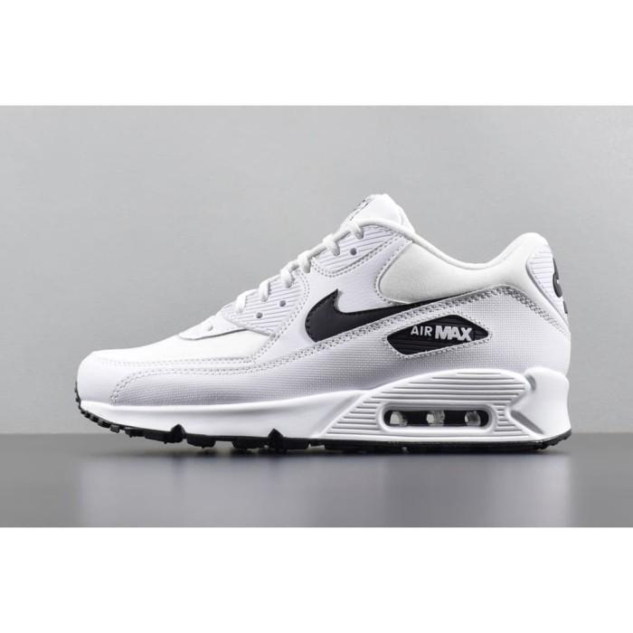 reputable site cd60f e14a1 Jual original nike air max 90 mens sport shoe all white black size 36-4 -  DKI Jakarta - Toserba Support LZD | Tokopedia