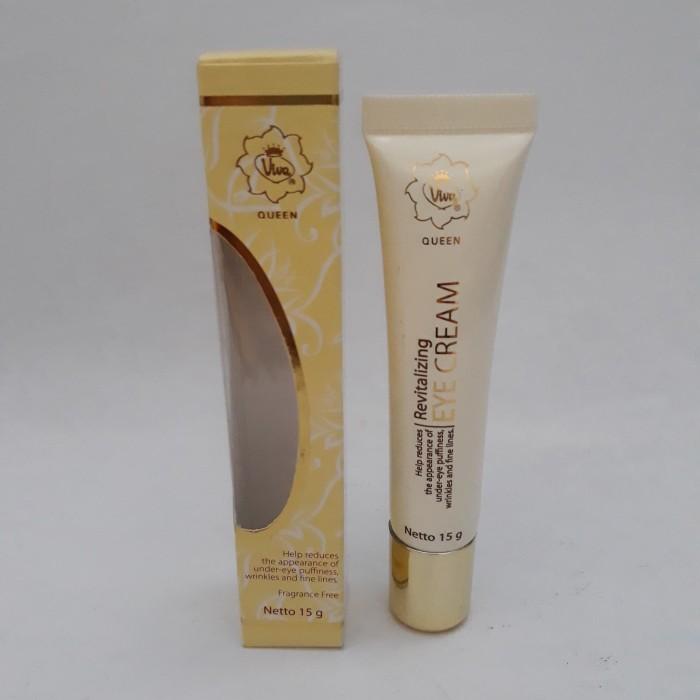 viva queen revitalizing eye cream 15 gram