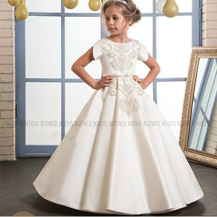 Jual Gaun Pengantin Anak Perempuan Bridal Kids Baju Pesta Anak