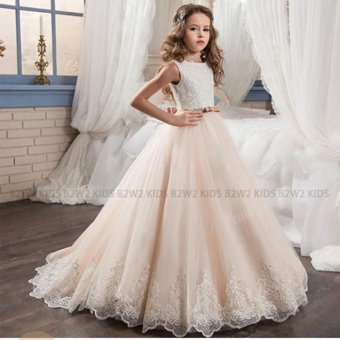 Jual Gaun Pengantin Anak Perenpuan Bridal Kids Baju Pesta Anak