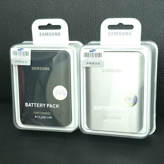 PowerBank Power Bank SAMSUNG ORIGINAL 10200 mAh 10200mAh ( EB-PG935 ) - Hitam