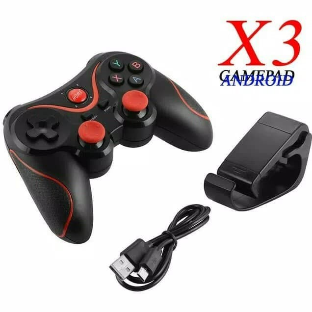 Foto Produk Gamepad Stick HP Wireless Bluetooth Headphone for Android Terios x3 dari scriptechnology