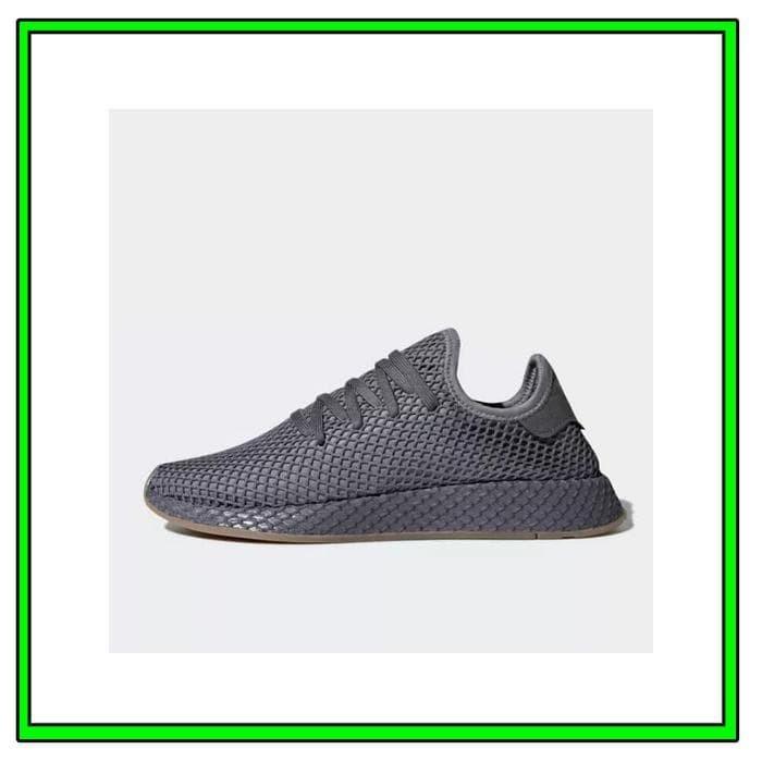 2433ab467a3d4 Jual Sepatu Sneakers Adidas Deerupt Runner Grey Gum Original CQ2627 ...