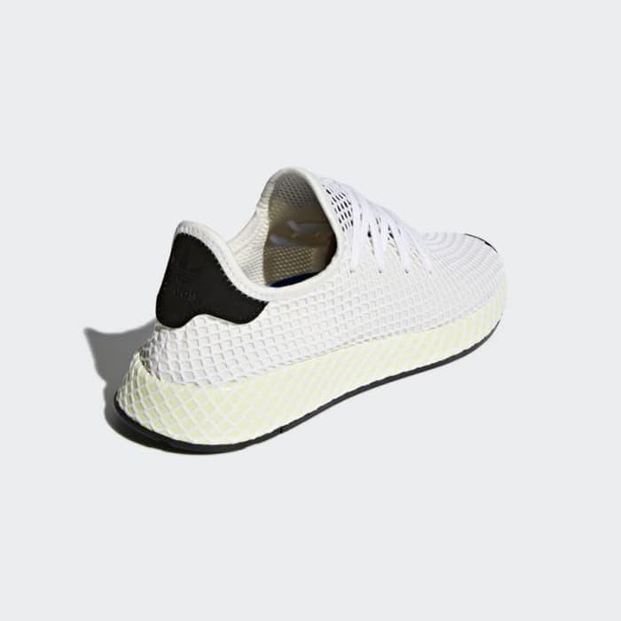 7c42cda90 Jual Sepatu Sneakers Adidas Deerupt Runner Chalk White Original ...