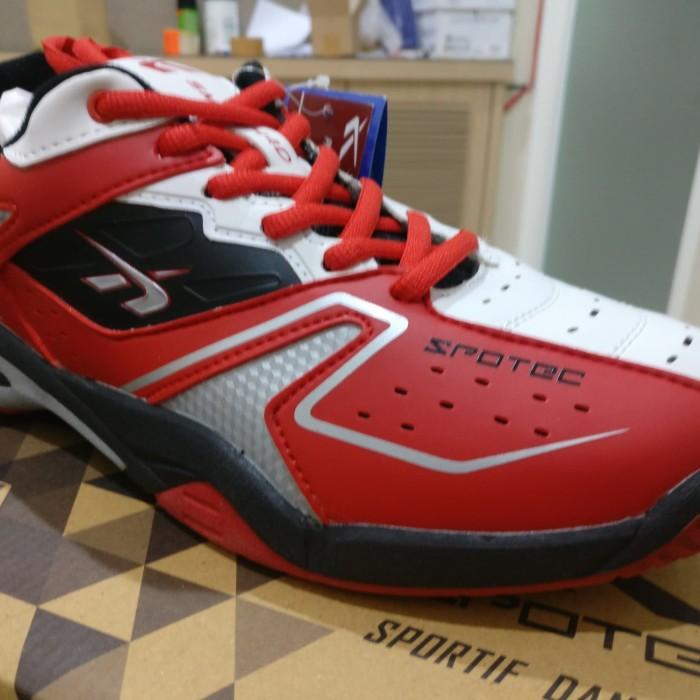 Jual SEPATU SPOTEC DOUBLE HIT Sepatu Badminton ORIGINAL -  bb30d85077