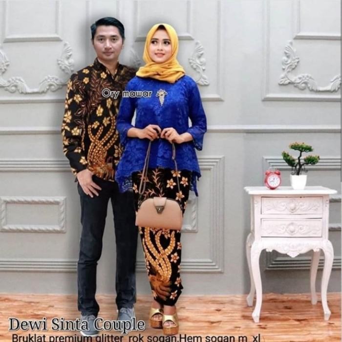 Jual Couple Batik Modern Bruklat Batik Sarimbit Kebaya Abu Abu 01431af2ee