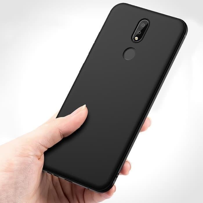 premium selection 3aefc 48573 Jual Case Slim Black Matte For Nokia X6/ Nokia 6.1 Plus Softcase Back Matte  - Jakarta Utara - Cahaya Onlinee | Tokopedia
