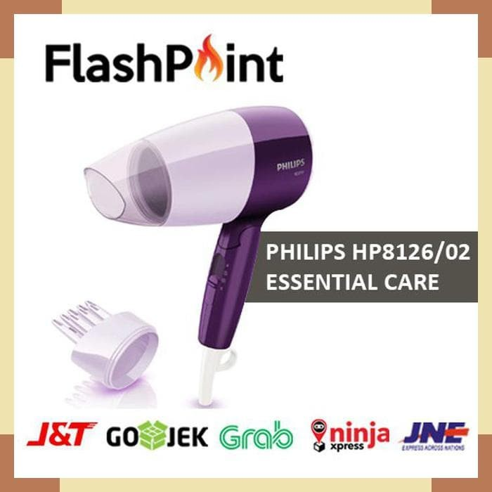 Philips Essential Care Dryer Hp8126 02 Ungu - Review Harga Terkini ... a68ef16c5d