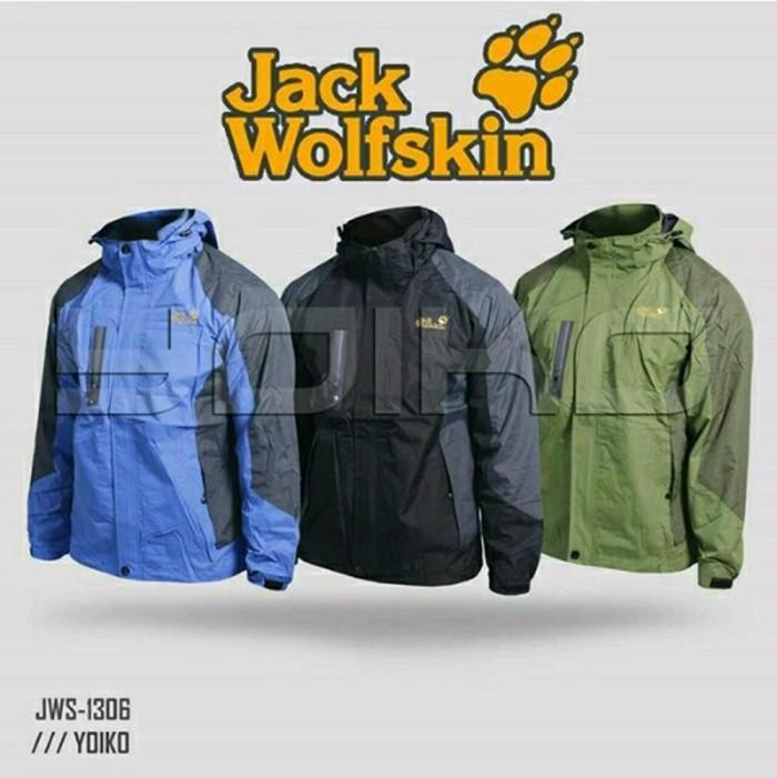 Jaket Gunung Outdoor Jack Wolfskin 1306 Waterproof Import