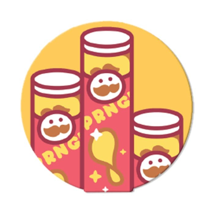 harga Pringles snack kingdom - ohstick antigravity sticker Tokopedia.com