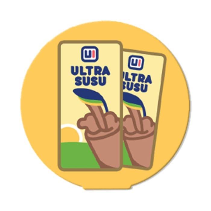 harga Ultra susu snack kingdom - ohstick antigravity sticker Tokopedia.com