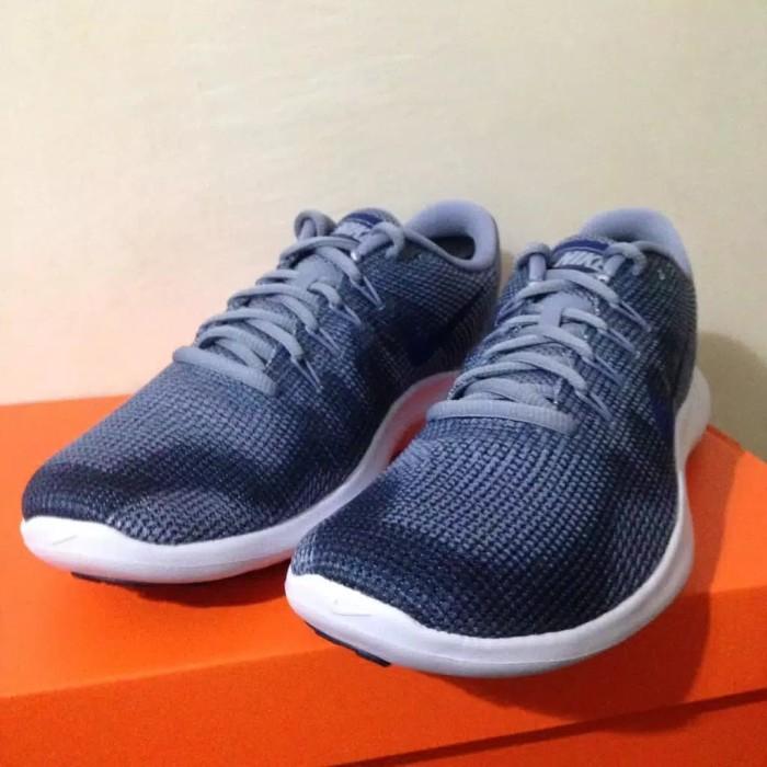 429229d80120 Jual Sepatu Runing Lari Nike Flex 2018 RN Ashen Slate Blue AA7397 ...