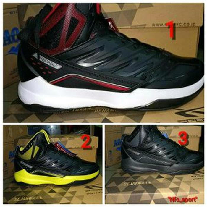 Jual sepatu basket spotec original BNIB sepatu sport cowok sport ... 79d7cee734
