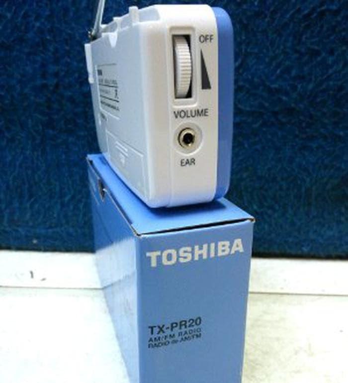 Toshiba Radio Portable Tx Pr20 Am Fm Hitam Page 2 Daftar Update Source · RADIO TOSHIBA TX PR20 FM AM elektronik high quality