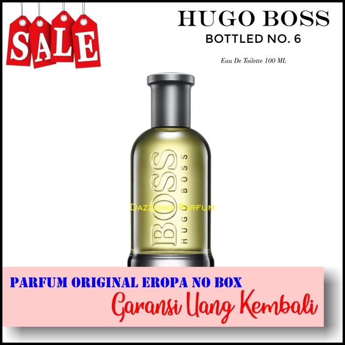 Jual Parfum Pria Hugo Boss Bottled No6 Edt 100ml Original No Box