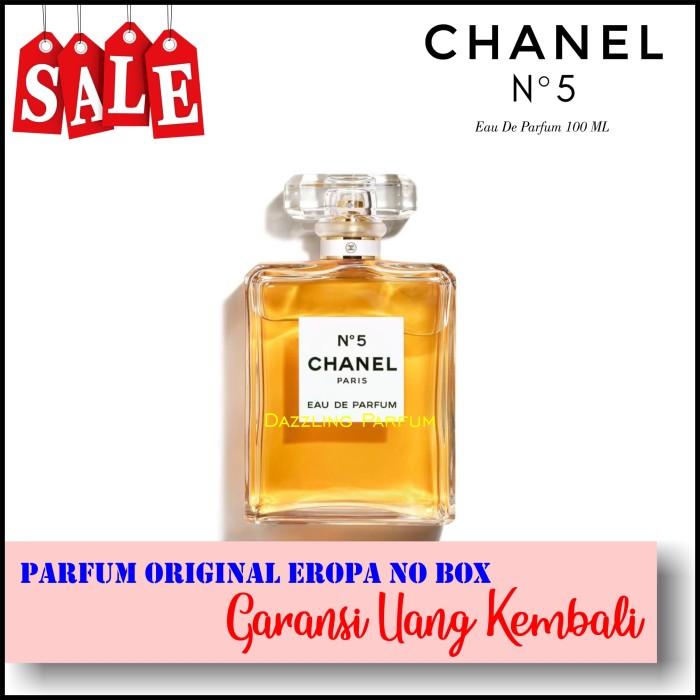 Jual Parfum Wanita Chanel No 5 Eau De Parfum Edp 100ml Original No