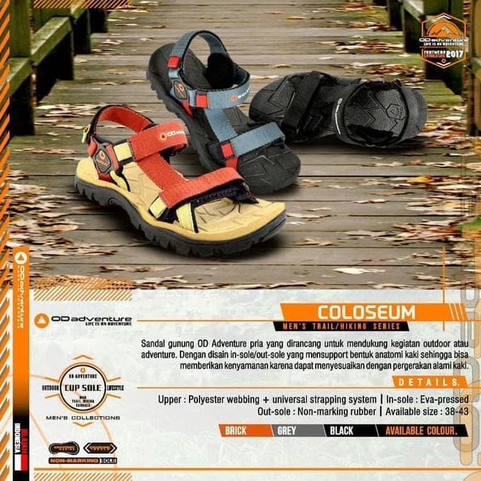 Jual Promo Sandal Gunung Outdoor Pro - Original - Sandal Hiking ... 645aa25fd7