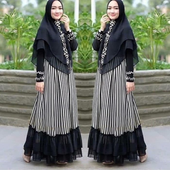 Jual Syari Gamis Syari Baju Muslim Wanita Syari Stelan Muslim Kota Cimahi Sk Stor Tokopedia