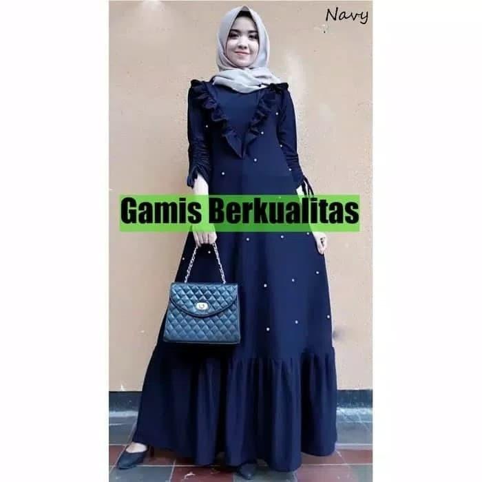 Jual Baju Gamis Wanita - MaxI Dress Mutiara Paramita - Dress Pesta ... 00e53113e4