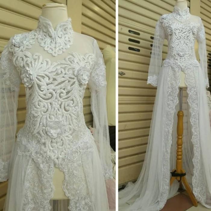 Gaun Kebaya Akad Nikah