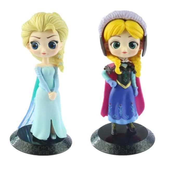 ... mainan salju character disney harga Action figure   pajangan frozen set  karakter lucu boneka elsa anna toy toys snow man 549c3b17b6