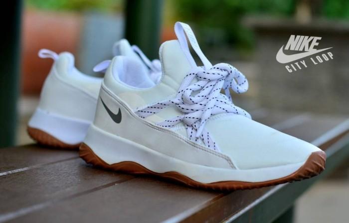 Sepatu wanita Nike cityloop putih Daily use party main santai