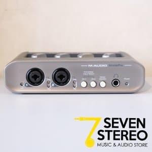 m audio sound card 2 channel