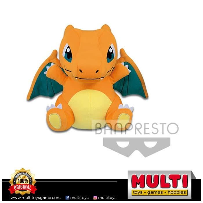 harga Pokemon sun & moon big round plush charizard a 0484245 Tokopedia.com