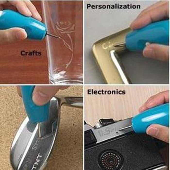 Terbaik Engrave It Pen Alat Ukir Elektrik mengukir Cincin Gelan