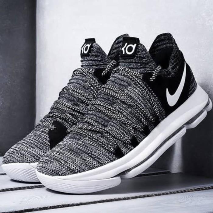 reputable site 3b9a2 f2c6b Jual Nike KD 10 Oreo Kevin Duran Premium sepatu Basket - Kota Administrasi  Jakarta Selatan - Tony Sneakers   Tokopedia