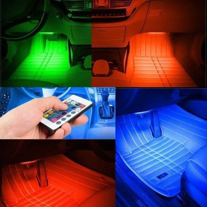 harga Lampu led kolong dashboard multi colour colok lighter + remote - rgb01 Tokopedia.com