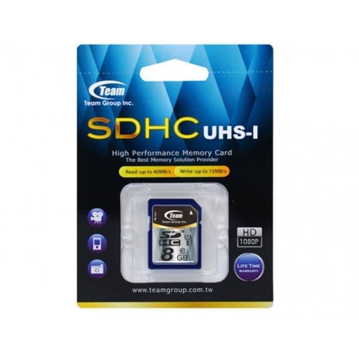 harga Memory team sdhc uhs-1 8gb flash for camera Tokopedia.com