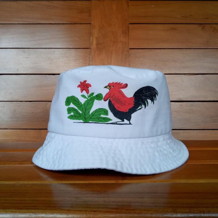 Jual Kamengski Bucket Hat - Ayam Jago - Bango Diecast  ee6d7d18f37
