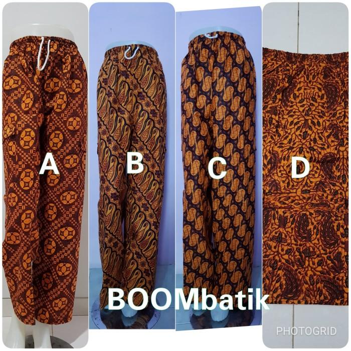 Jual Celana Batik Betawi Boim Panjang Jumbo Cl2 Boombatik