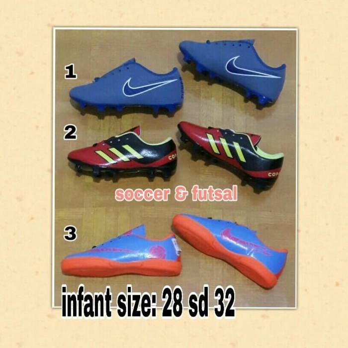 harga Sepatu bola sepatu futsal anak / bayi usia 3 - 7 tahun size 28 sd 32 Tokopedia.com