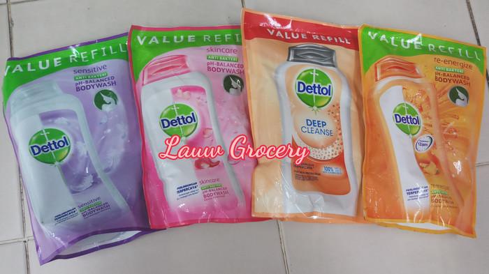Dettol Value Refill Body Wash 250ml/Liquid Soap/Sabun Mandi Cair